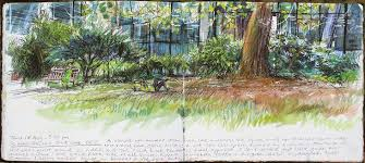 this man is sketching every central london park londonist