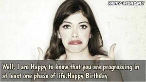 Sarcastic Happy Birthday Wishes 10 Best Sarcastic Birthday Wishes Messages Happy Wishes