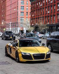 Audi R8 Gold - our fleet u2013 nyc u0027s premiere exotic car rental