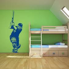 cricket batsman batting position cricket wall stickers sport decor cricket batsman batting position cricket wall stickers sport decor art decals