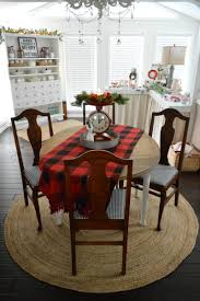 Drop Leaf Farm Table Cottage Christmas Home Tour With Country Living Fox Hollow Cottage