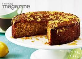 posh cakes recipe gluten free lemon polenta cake sainsbury s