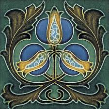 Art Deco Tile Designs 2549 Best Tiles Images On Pinterest Art Nouveau Tiles William