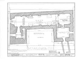 Mission San Juan Capistrano Floor Plan