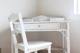 White Wicker Bedroom Chairs Walrus White Vanity And Chair Set Sold On Craigslist