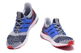light blue adidas ultra boost cheap adidas women men ultra boost running shoes white navy light