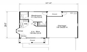 garage floor plans with apartments 1 bedroom garage apartment floor plans interior design ideas 2018