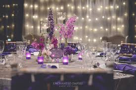 and silver wedding purple silver wedding styled by enchanted empire event