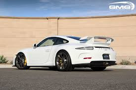 porsche 911 gt3 modified gmg racing porsche 991 gt3 bolt in roll bar now available