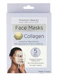 Collagen Mask precision 5 pack korean mask collagen pastel