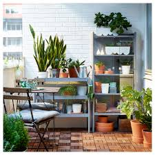 Potting Bench Ikea Hindö Greenhouse Cabinet Indoor Outdoor Ikea
