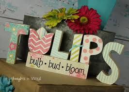 wooden letters u0026 crafts for spring and summer plus some cute