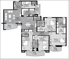 floor plan of unitech uniworld city gurgaon apartments in unitech