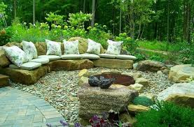 Outdoor Furniture Of Rock  Stones Pictures Photos And Images - Rock furniture