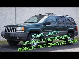 light green jeep cherokee 1998 jeep grand cherokee 4 0l i6 4x4 green automatic 74k youtube