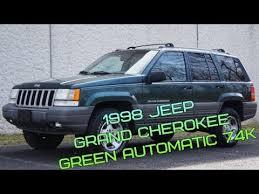 light green jeep cherokee 1998 jeep grand cherokee 4 0l i6 4x4 green automatic 74k youtube