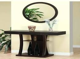 entry way table decor entry table with mirror modern black entryway table ideas design