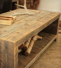 furniture rustic round coffee table reclaimed wood coffee table
