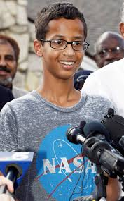 istandwithahmed 9th grader arrested over homemade clock time