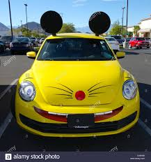yellow volkswagen beetle royalty free customized volkswagen beetle automobile stock photo royalty free