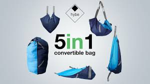 Shape Shifting by Hybe The 5 In 1 Shape Shifting Convertible Bag By Richard