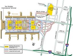 Las Vegas Airport Terminal Map by Airport Parking Maps For La Guardia Las Vegas Lax Little Rock