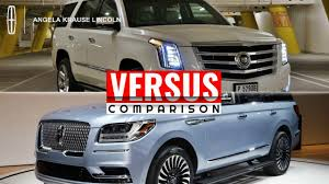 cadillac escalade 2017 lifted see detailed comparison between 2018 lincoln navigator and 2018