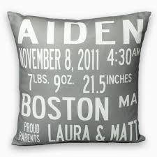 personalized pillows for baby bat mitzvah pillows