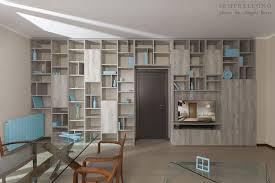 libreria ponte foto libreria a tutta parete realizzata su misura di semprelegno