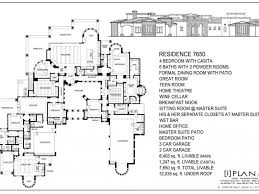 7000 Sq Ft House Plans by 7000 Sq Ft House Plans Zijiapin