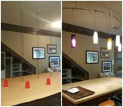 Drafting Table Light Fixtures Design Room Renovations Drafting Table Lighting Before U0026 After