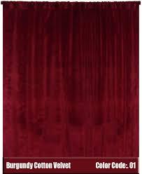 Burgundy Velvet Curtains Velvet Drapes Panels Home Decor Decorative Curtains Theater