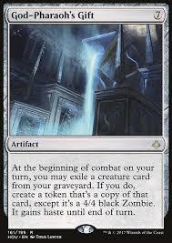 mtg god pharaoh s gift arcane cards