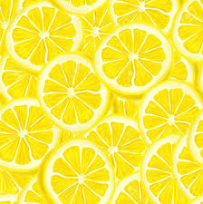 seamless lemon pattern seamless riped juicy sliced lemons pattern background illustration