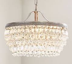 How To Make A Beaded Chandelier Lighting Sale Pottery Barn