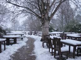 winter the edinburgh café enthusiast