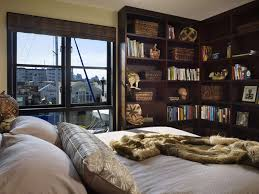 clever ways in which a corner bookshelf can fill in the blanks in add them to the bedroom to maximize storage