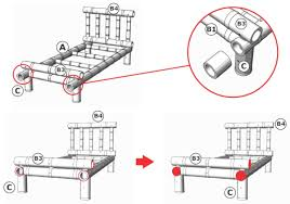 how to make a bamboo bed