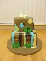 jungle safari animals baby shower cake my creations pinterest