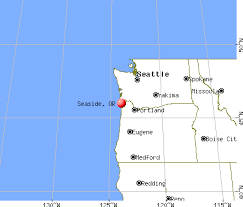 seaside oregon map my