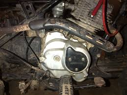 i have a honda 125 trx that idles fine but will not rev up