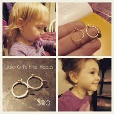 baby hoop earrings 53 toddler hoop earrings toddler child kid baby safety