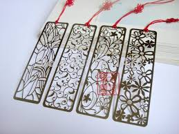 bookmark favors vintage gift stainless steel metal bookmark for books hollow