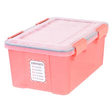 keepsake storage with lid coral at home at home