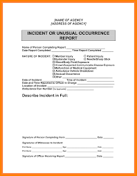 Accident Report Sample Letter 10 How To Write An Incident Report Letter Sample Emt Resume