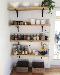 shelving ideas for kitchen small kitchen open normabudden com