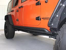 jeep rock sliders rubicon rock sliders for wrangler jku 4 door fb23011 jeep