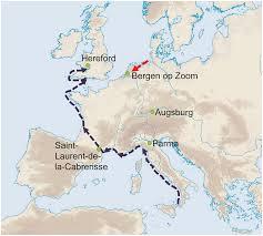 Parma Italy Map by Distinct Clones Of Yersinia Pestis Caused The Black Death
