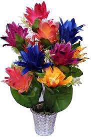 artificial flower artificial flowers with pot at rs 350 artificial flowers