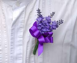 wedding flowers for guests lilac artificial silk lavender wedding guest buttonhole